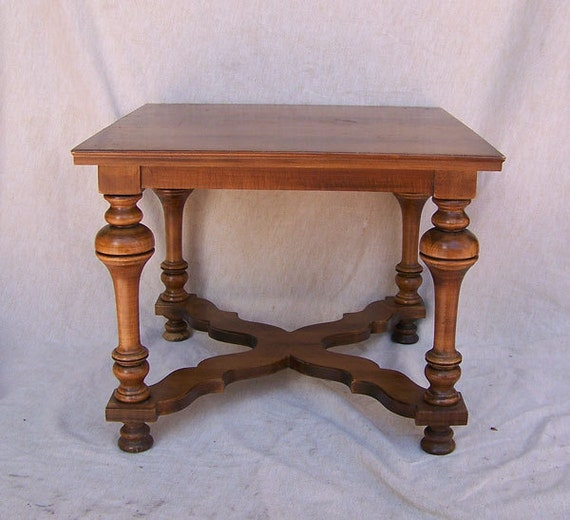 Rare Tell City Chair Co Table End Table Sofa Table With