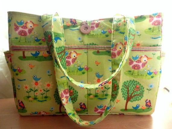 cute diaper bag book bag