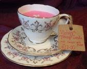 Vintage Tea Cup Candle (set of 4)