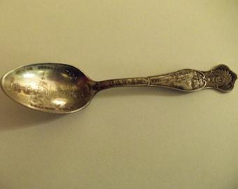 Souvenir Spoon 1901 Sterling Silver PAN AM Niagara Falls