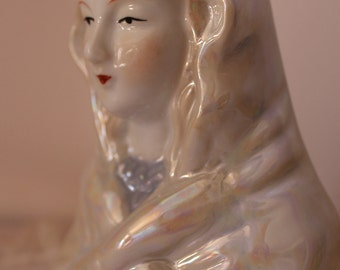 Virgin Mary Head Figurine