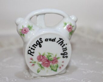 Rings And Things Porcelain Ring holder