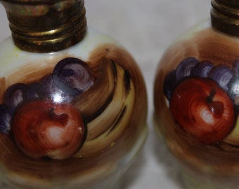 Beautiful Hand Painted Enesco Salt and Pepper Shakers