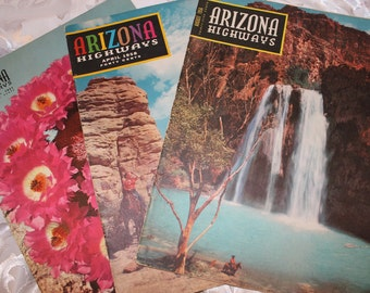 Arizona Highways Magazines 1950s