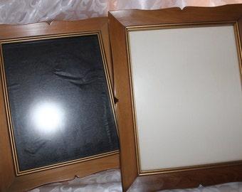 Vintage Wood Picture Frames