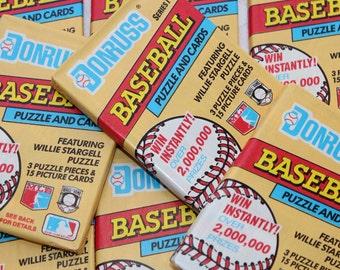Don Russ Unopened Baseball Cards