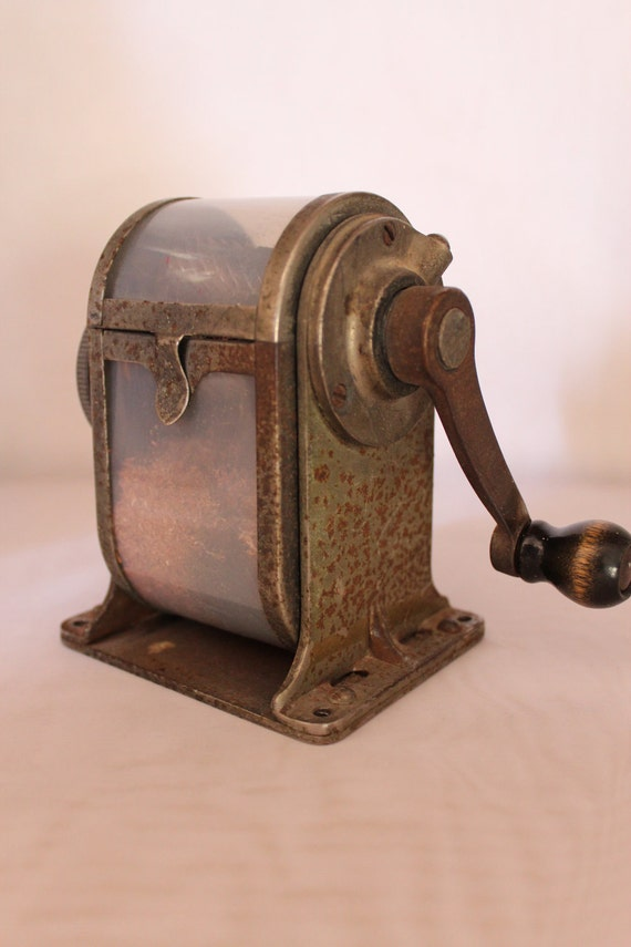 Vintage metal german pencil sharpeners
