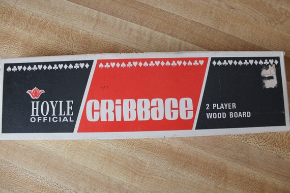 Vintage Hoyle Carribage Board