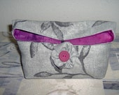 Black,Grey,Fuschia Print Clutch Pouch ( Free shipping after the first item purchase U.S. only)