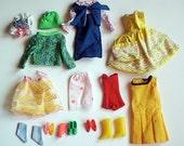 Lot of Vintage Francie Clothing, 1965 Mattel