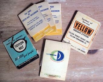 Lot of 6 Vintage Eyeglass Tissue Advertising Packets