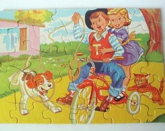 Kiddies Jaymar Royal Inter-Locking Jig-Saw Puzzle Hi Ho Rover
