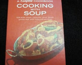 Vintage 1972  Campbell Cooking Soup Book.