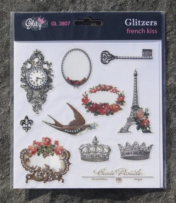 Glitz Design French kiss Glitzers