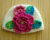 Beautiful Crochet hat for A baby girl