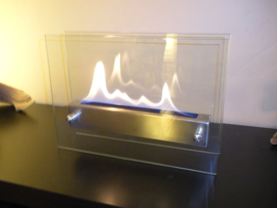 Items similar to tabletop indoor fireplace bio ethanol for Denatured ethanol fireplace