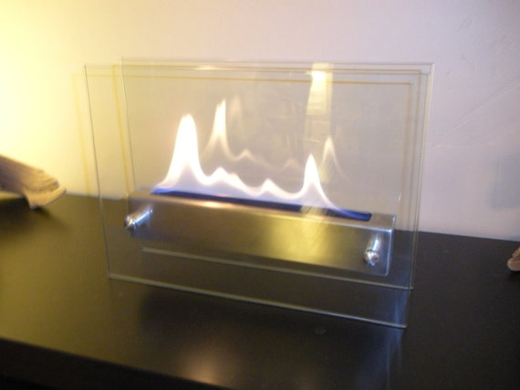 Items Similar To Tabletop Indoor Fireplace Bio Ethanol Fire Feature On Etsy