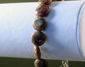 Chinese Unakite Resizable Gemstone Bracelet