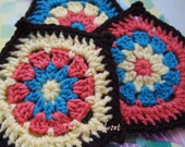 JOIA - Set of 3 Pentagon-Shaped Multicolor Coasters - RESERVED