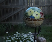 Stained Glass Mosaic Bowling Ball RESERVED FOR LORI