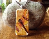 Domino Necklace Wearable Art - OOAK