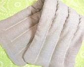 HEMP Heating Pad Eco friendly 11x27 large XL REFILLABLE washable microwave Heat Pad