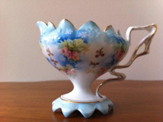 Royal Coburg Powder Blue Creamer Fine Bone Porcelain China Vintage