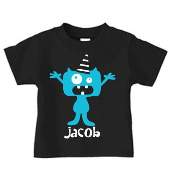Personalized Monster T Shirt Monster Birthday T Shirt For