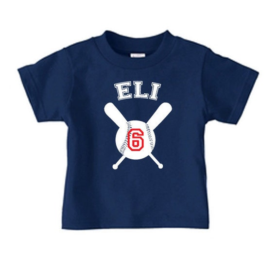 items similar to personalized baseball t shirt for boys on