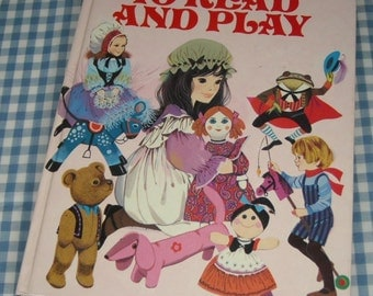 time to read and play, vintage 1984 children's book