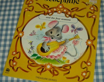 josephine and the four seasons, vintage 1970s children's book