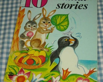 10 animal stories, vintage 1970s children's book
