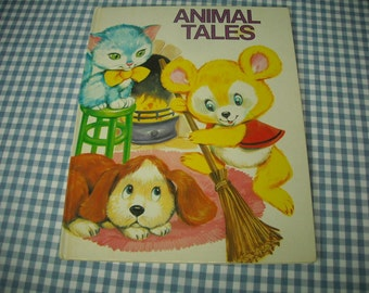 animal tales, vintage 1983 children's book