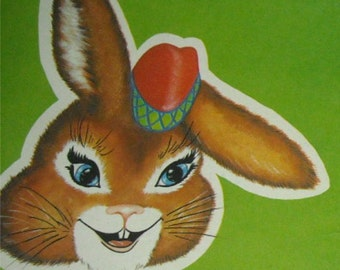 mac bunny's happy holiday, vintage 1970 children's book
