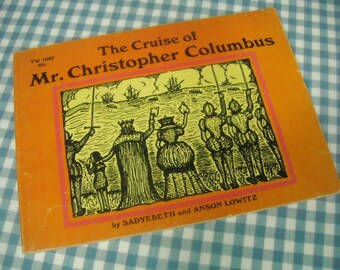 the cruise of mr. christopher columbus, vintage 1967 children's book