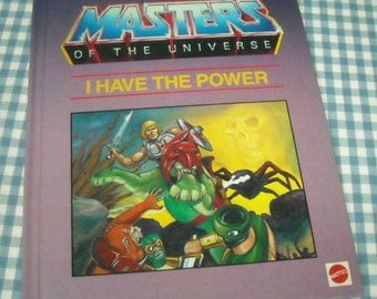 masters of the universe - i have the power, vintage 1985 children's book