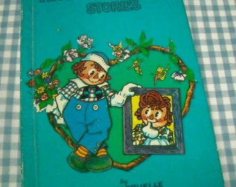 raggedy andy stories, vintage 1960s children's book