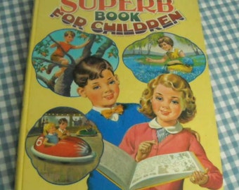 dean's superb book for children, vintage 1964 children's book