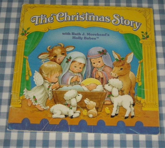 the christmas story, vintage 1986 children's book