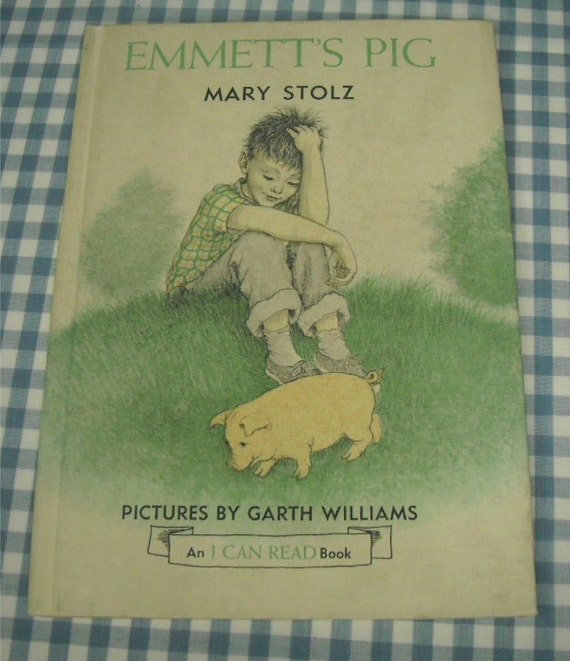emmett's pig, vintage 1950s children's book