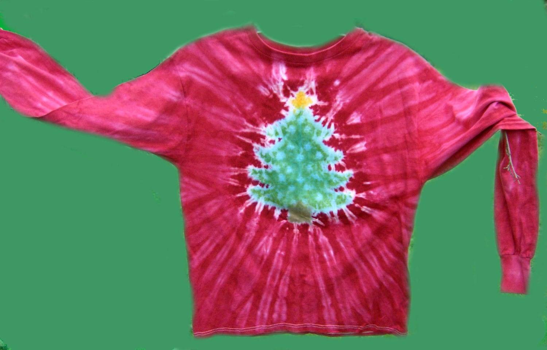 tie dye christmas tree - photo #10