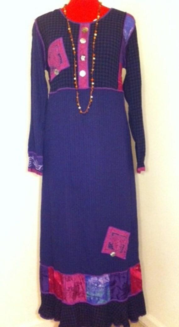 Gypsy Soul Vintage Dress, Size Medium
