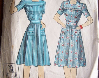 1940's Sewing Pattern DuBarry 5587 size 14