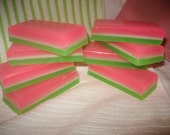 SALE Cucumber Melon Glycerin Soap