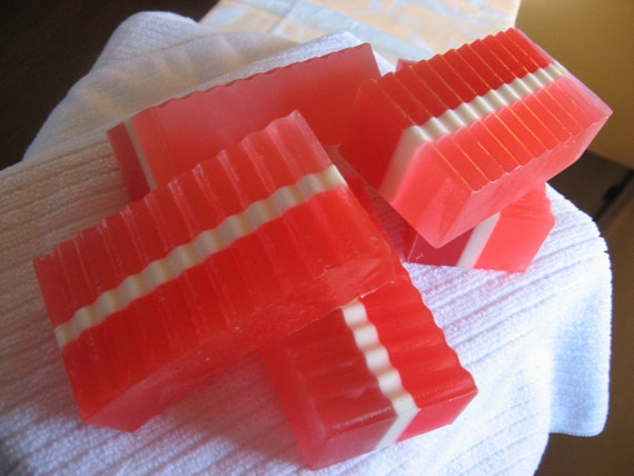 ON SALE Cherry Vanilla Glycerin soap