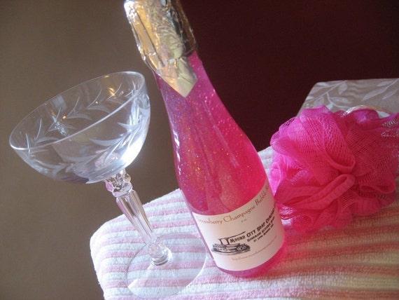 Strawberry Champagne Bubble Bath