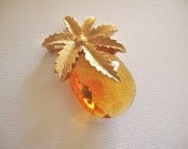Pineapple Brooch Pendant Combo by Sarah Coventry