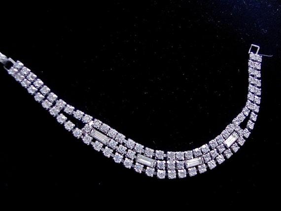 Reserved for Michele - Kramer NY Rhinestone Bracelet