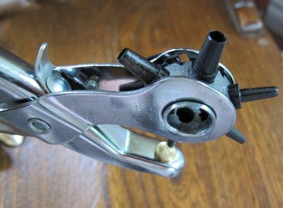 Leather Punch Revolving Turret 6 hole sizes new model 02607