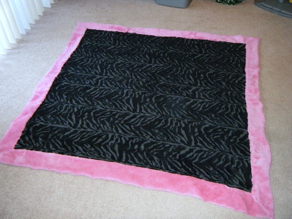 black pink zebra rug. Black Bedroom Furniture Sets. Home Design Ideas